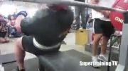 327.5 کیلو پرس سینه بدون لوازم رکورد جهان اریک اسپیتو