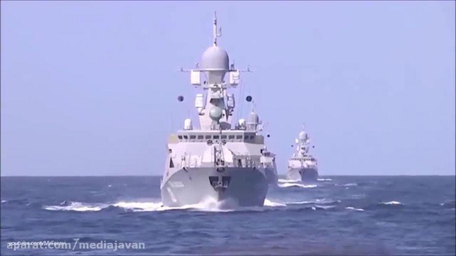 حمله موشکی روسیه به مواضع داعش از دریای خزر