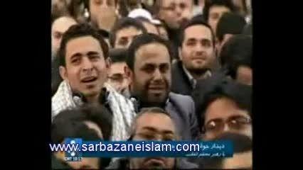 جوان بحرینی و امام خامنه ای
