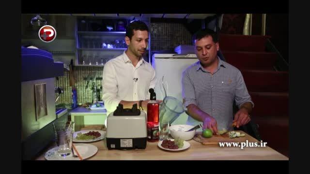 اسموتی هندوانه و انگور؛طعم یک نوشیدنی خاص را تجربه کنید