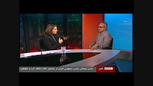 بی بی سی به دنبال بستن دهان مخالفان دولت حسن روحانی!