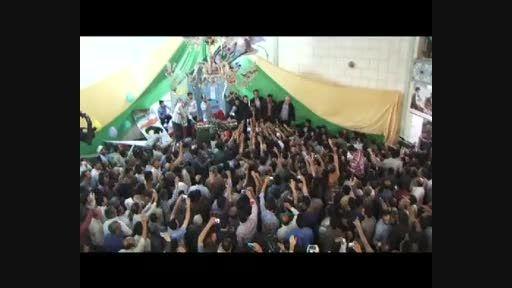 دکتر احمدی نژاد در جشن میلاد امام عصر (عج) در همدان