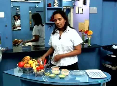 آموزش درست کردن ماسک با میوه و سبزیجات