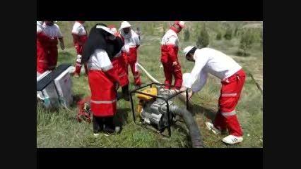 اولین دوره توان افزایی پرسنل پایگاه عملیات امداد و نجات