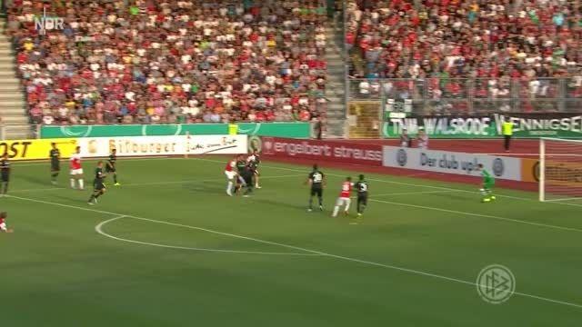 جام حذفی آلمان : کاسل 0 - 2 هانوفر