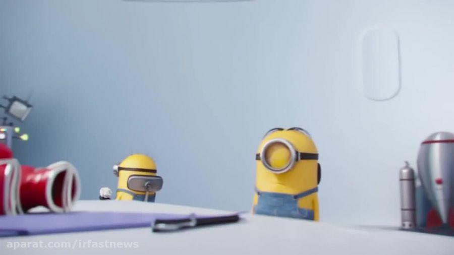انیمیشن جدید و کوتاه مینیون ها