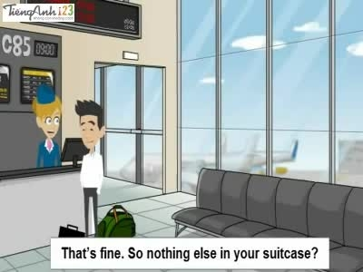 خرید بلیط هواپیما - آموزش زبان انگلیسی - در فرودگاه