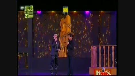 شاهرخ خان،سلمان خان، امیر خان در Aap Ki Adalat