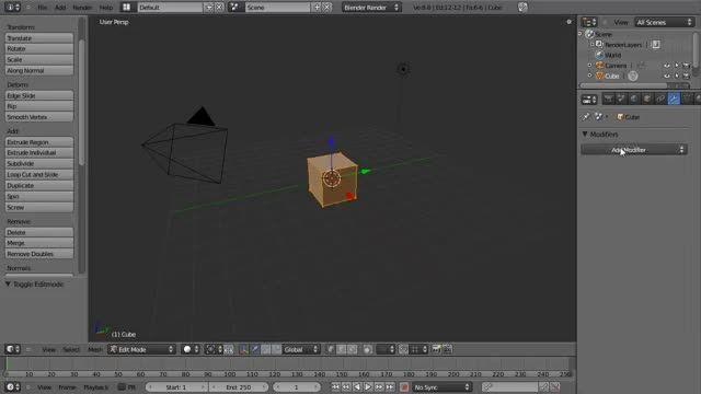 ۱۰ − سری آموزشی مدلینگ در Blender از CGCookie
