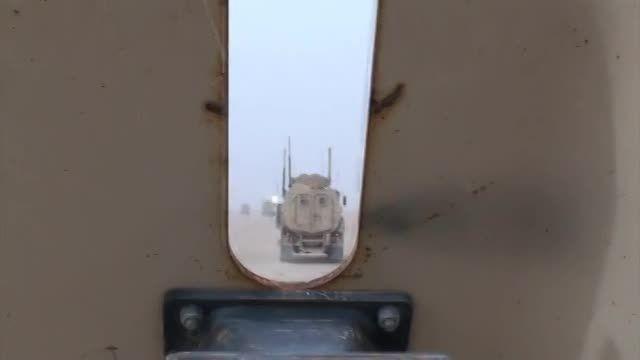 کامیون نظامی آمریکایی MRAP