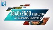 تبلت 20 اینچی پاناسونیک با صفحه نمایش 4K