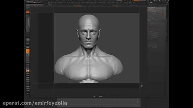 #2 Head Sculpting with Dynamesh in Zbrush