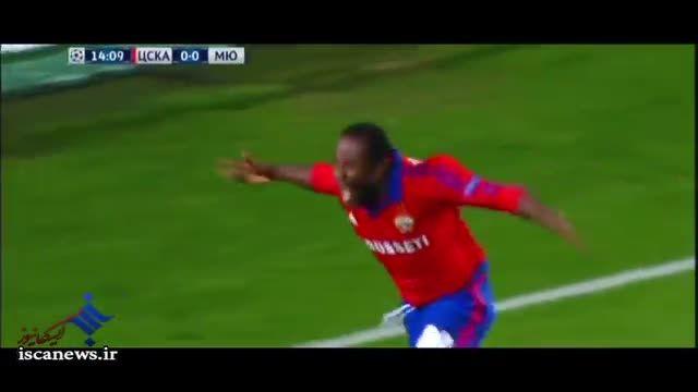 خلاصه بازی : منچستر یونایتد 1 - 1 زسکا مسکو