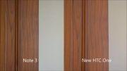 htc one m8.vs samsung note3 camera Comparison