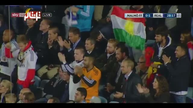 رئال مادرید 2 - 0 مالمو ( 2 گل رونالدو ) لیگ قهرمانان