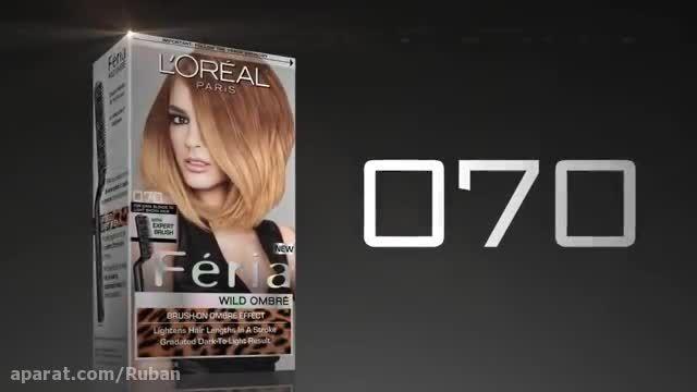 آموزش هایلایت مو در خانه با استفاده از رنگ موی لورال