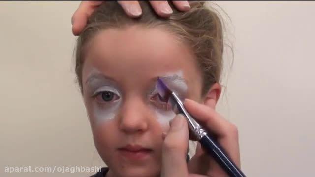 نقاشی روی صورت کودکان ؛ مدل 1