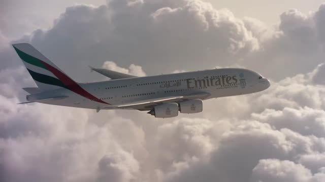 پرواز بال به بال دو Jetmen با هواپیمای ایرباس A380