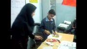 بازی و یادگیری در کلاس زبان پایه پنجم