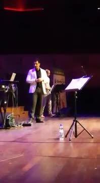 ویدیو جالب از کنسرت احسان خواجه امیری-هلند-آهنگ غریبانه