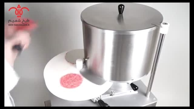 GESAME همبرگر زن اتوماتیک