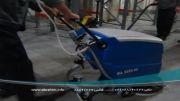 نظافت صنعتی- دستگاه اسکرابر زمین شوی- زمین شوی- اسکرابر