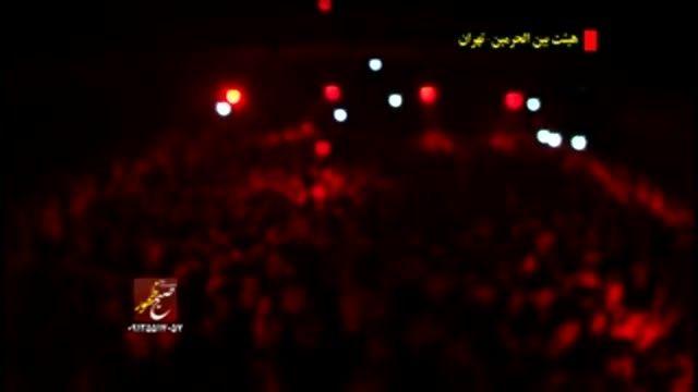 لطمه زنی و احوالات کربلایی جواد مقدم در بین الحرمین 2