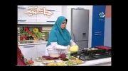 مافین مرغ و سبزیجات