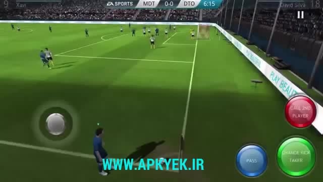 دانلود بازی fifa 16 اندروید