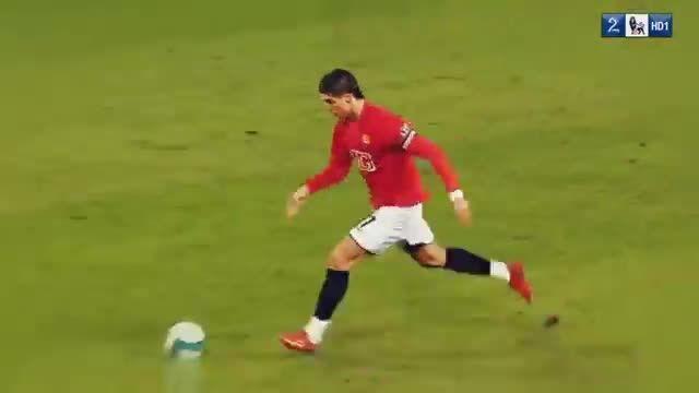 انتخاب کریستیانو رونالدو به عنوان برترین بازیکن 2008