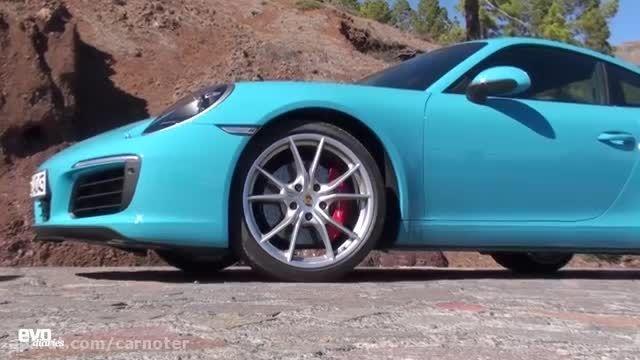 راندن با مدل جدید پورشه 911 مدل 2016