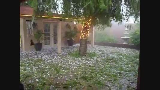 بارش برف باران شدید