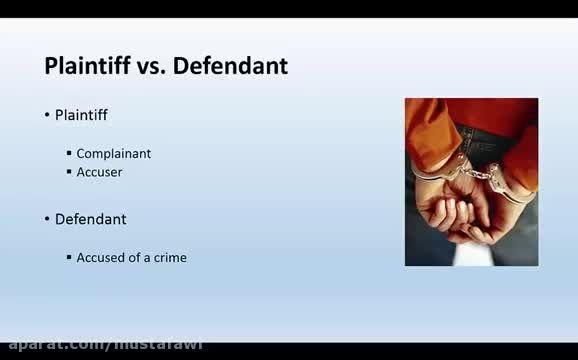 آموزش اصطلاحات حقوقی زبان انگلیسی 2