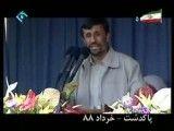 توضیحات احمدی نژاد درباره ی سیاست خارجی تهاجمی دولتش