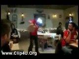 حرکات نمایشی با خمیر پیتزا