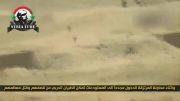 القلمون - حمله جنگنده به تروریست ها در حین حمله به انبار 599