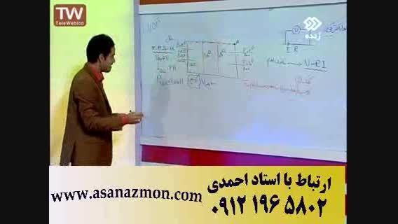 تدریس تکنیکی و فوق سریع فیزیک با امپراطور فیزیک کنکور 8