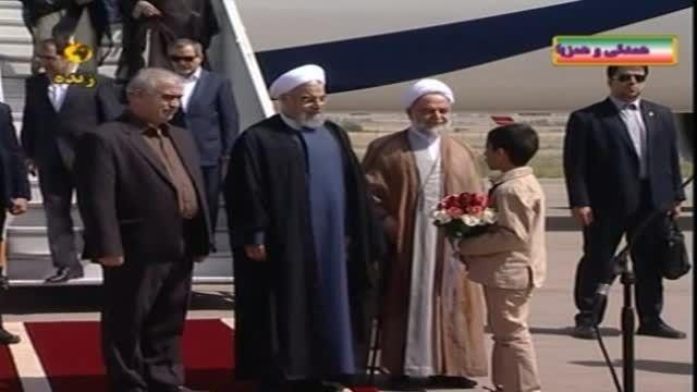 استقبال با سله و هدیه از حجت الاسلام والمسلمین حسنقلی