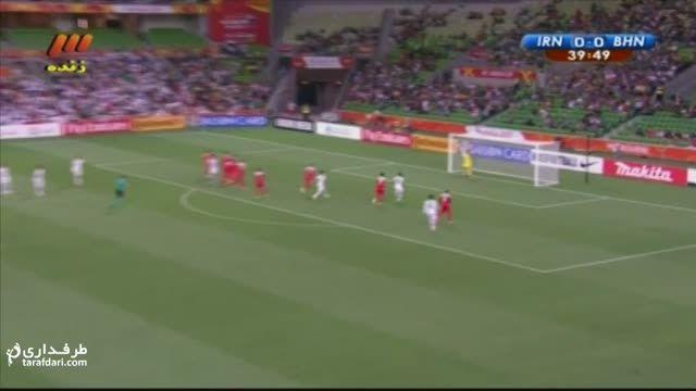 خلاصه بازی ایران 2-0 بحرین