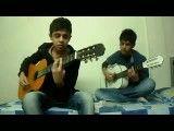 اجرای آهنگ بسیار زیبای دروغ عاشقانه توسط حسام شهبازی و احمد دریك با گیتار