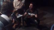 حمید مهدوی در حال گدایی