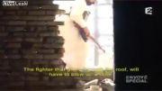 کشته شدن تروریست سوریه توسط تک تیرانداز ارتش سوریه
