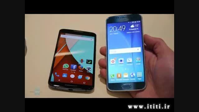 مقایسه گوشی های Samsung Galaxy S6 و Nexus 6