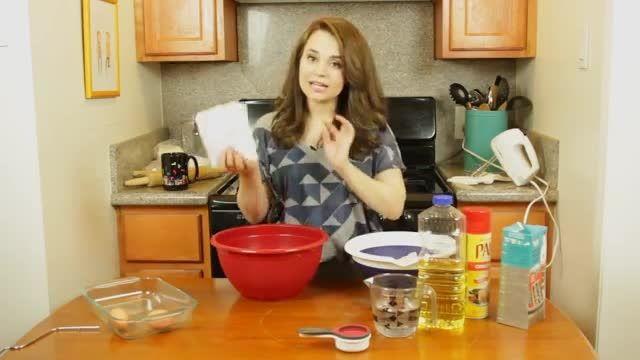 ♥ آموزش پخت کیک گوشی آیفون با بیسکوییت