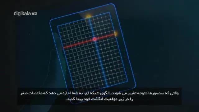 نمایشگر های لمسی چگونه کار می کنند؟