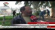 تمیزکاری شهر جسر الشغور در ادلب بعد از پاکسازی ارتش