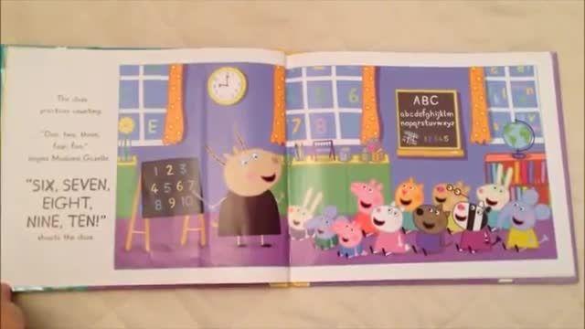 کتاب PEPPA PIG AND THE BUSY DAY AT SCHOOL