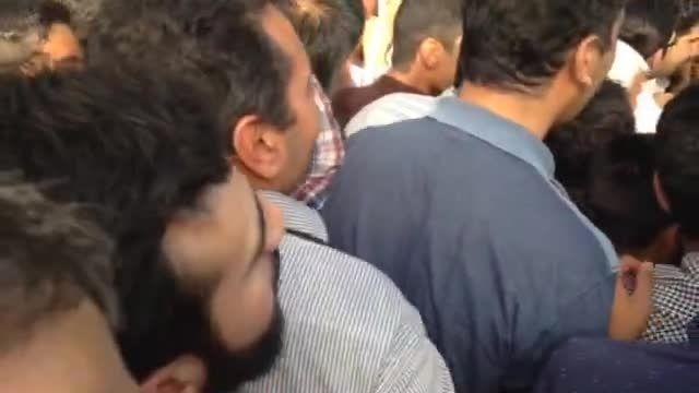 استقبال پرشور از دکتر احمدی نژاد در همدان2