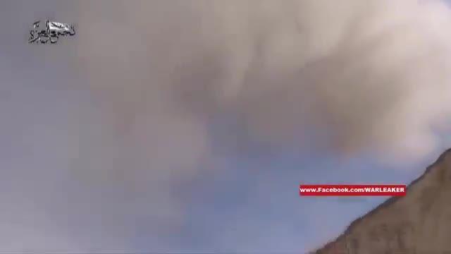 اولین حمله نیرو هوایی روسیه به مواضع داعش در سوریه