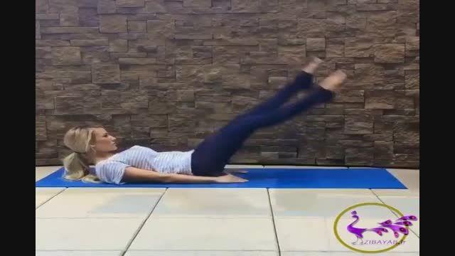 تقویت عضلات شکم و پهلو